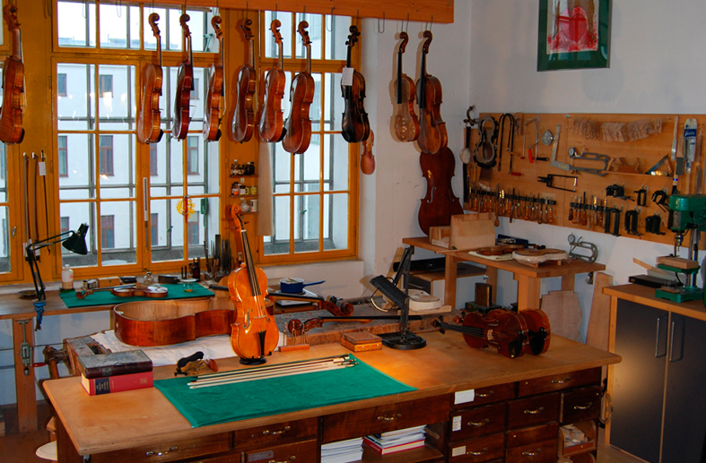 Our atelier at